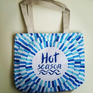 Torba Letnia - Hot Season - 34x41 cm